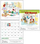 Never A Dull Moment Spiral Wall Calendars